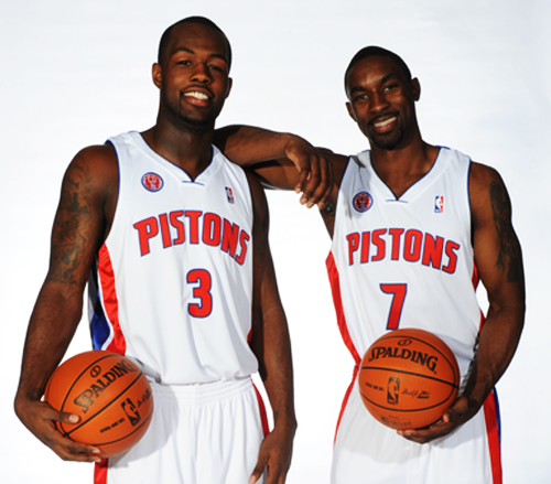 Rodney Stuckey Ben Gordon