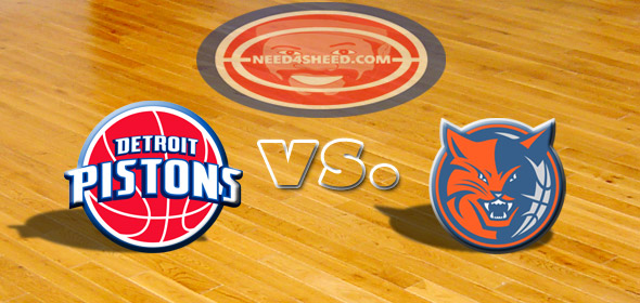 The Pistons vs. The Bobcats