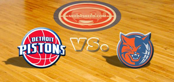 The Pistons vs. The Bobcats
