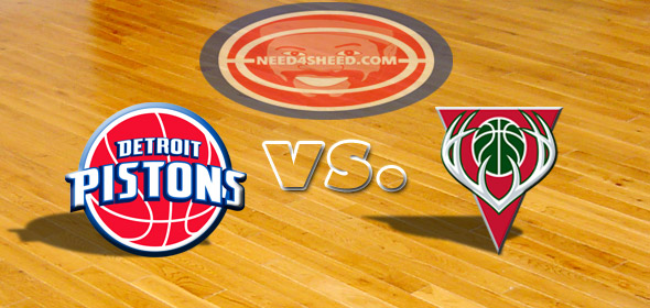The Pistons vs The Bucks