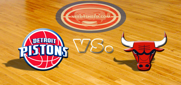 The Pistons vs The Bulls