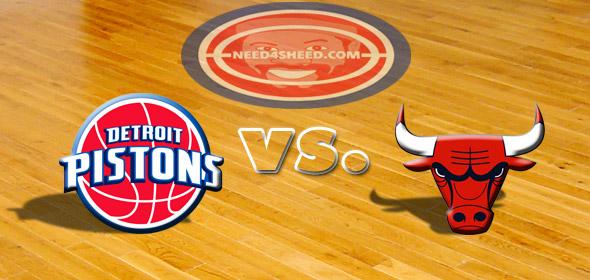 The Pistons vs. The Bulls