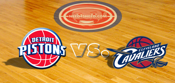 The Pistons vs. The Cavaliers