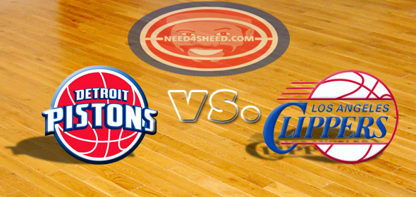 The Pistons vs. The Clippers