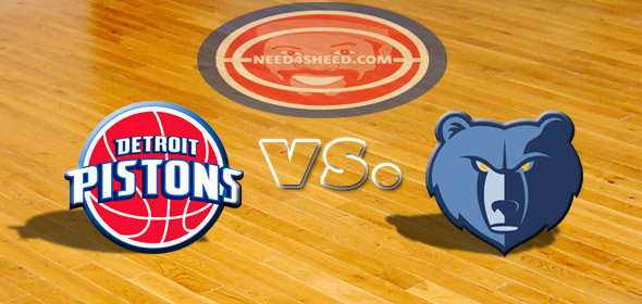 The Pistons vs. The Grizzlies