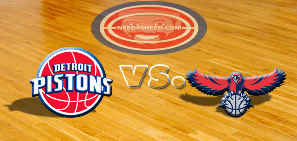 The Pistons vs. The Hawks
