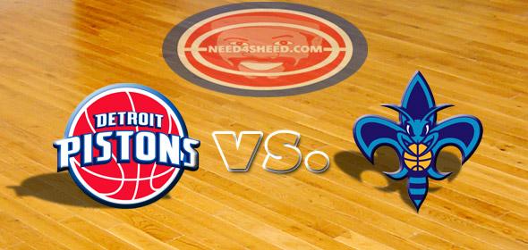 The Pistons vs. The Hornets