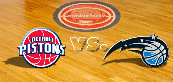 The Pistons vs. The Magic