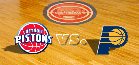 The Pistons vs. The Pacers