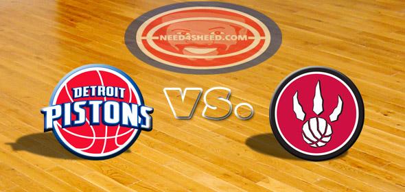 The Pistons vs The Raptors