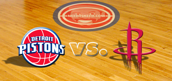 The Pistons vs. The Rockets