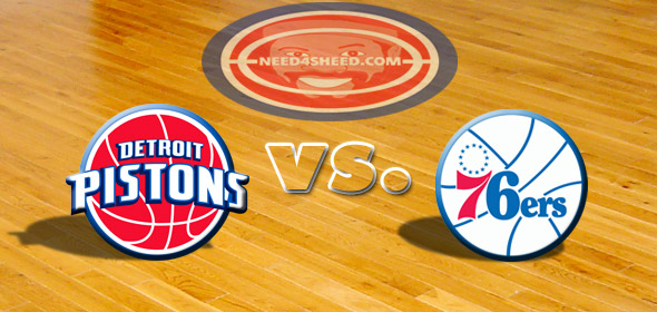 The Pistons vs. The Sixers