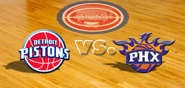 The Pistons vs. The Suns