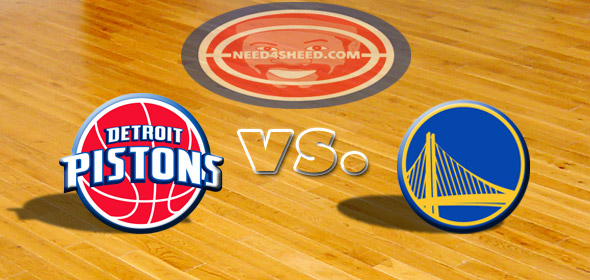 The Pistons vs The Warriors