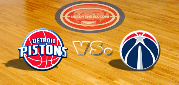 The Pistons vs. The Wizards