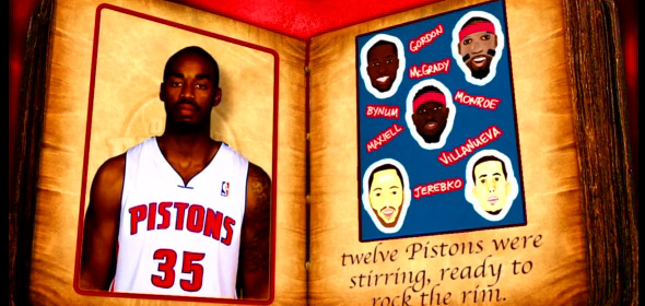The Pistons – 'Twas the Night After Christmas