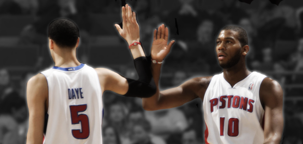 Austin Daye and Greg Monroe