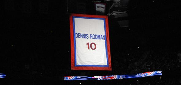 Dennis Rodman Jersey Retirement Ceremony Video
