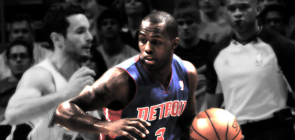 Rodney Stuckey vs The Magic