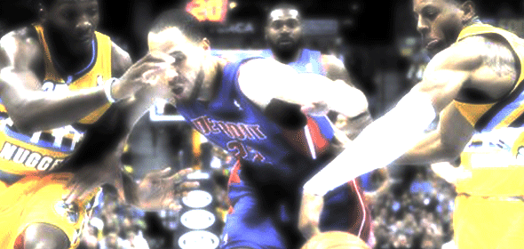 Greg Monroe's 27 wasn't enough to get the Pistons their First Win