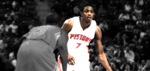 Brandon Knight-Pistons-vs-Clippers