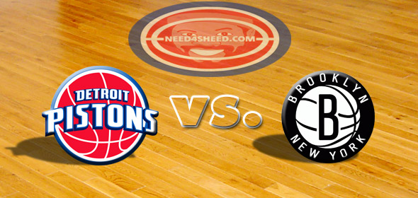 The Pistons vs. The Nets
