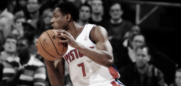 Brandon Knight-Pistons-vs-Mavericks