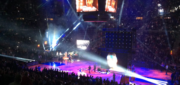 2013 Detroit Pistons Introductions – Chauncey Billups Returns