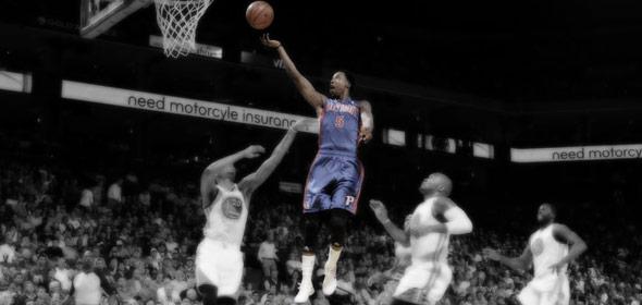 The Warriors Pummel The Pistons