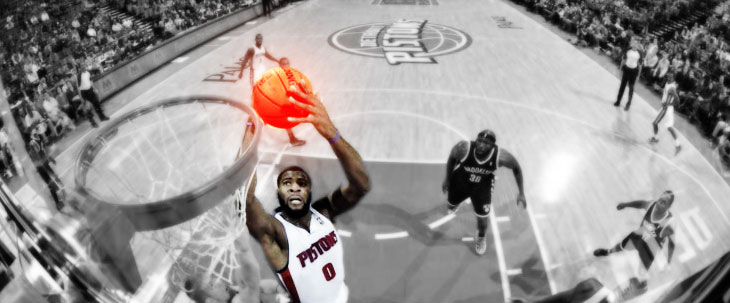 Pistons Stomp The Nets