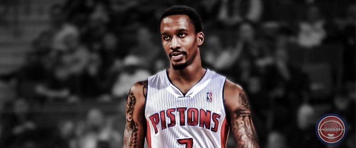 Brandon Jennings Detroit Pistons