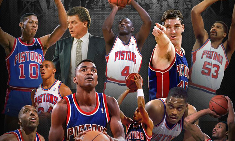 The Detroit Pistons Bad Boys Reunite