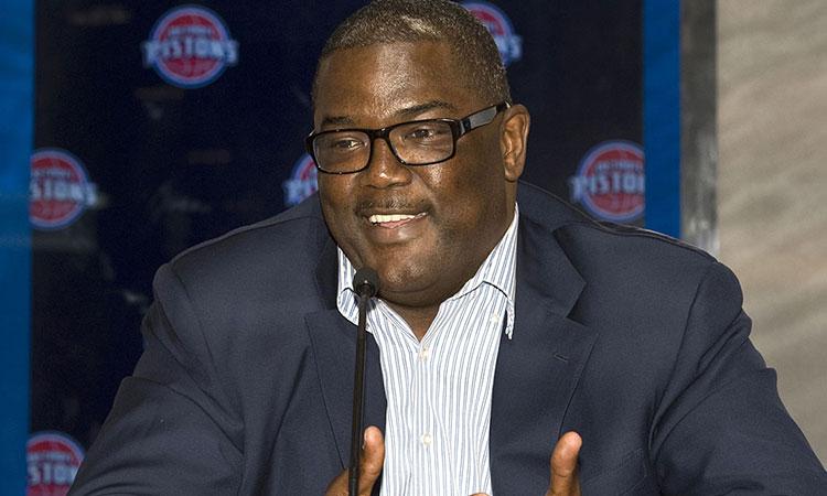Joe Dumars steps down as President of Basketball Ops