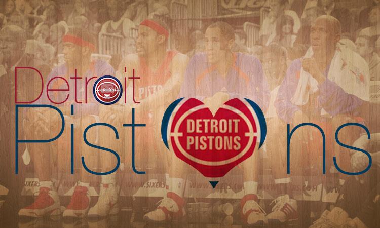 Detroit Pistons – I'm back on a bandwagon that I've never left