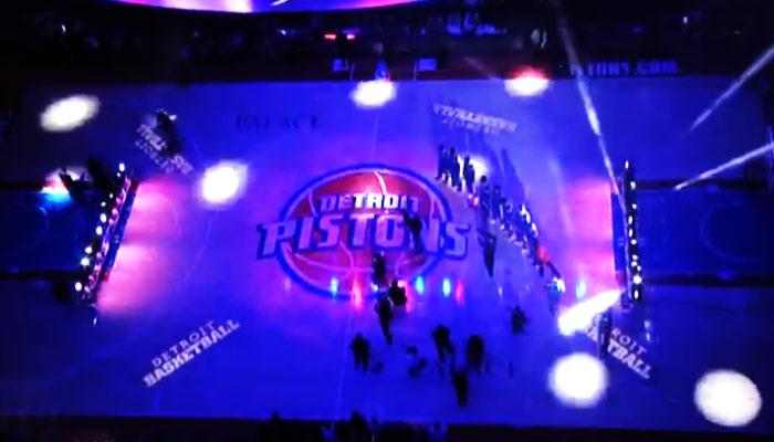2014-2015 Detroit Pistons Intros